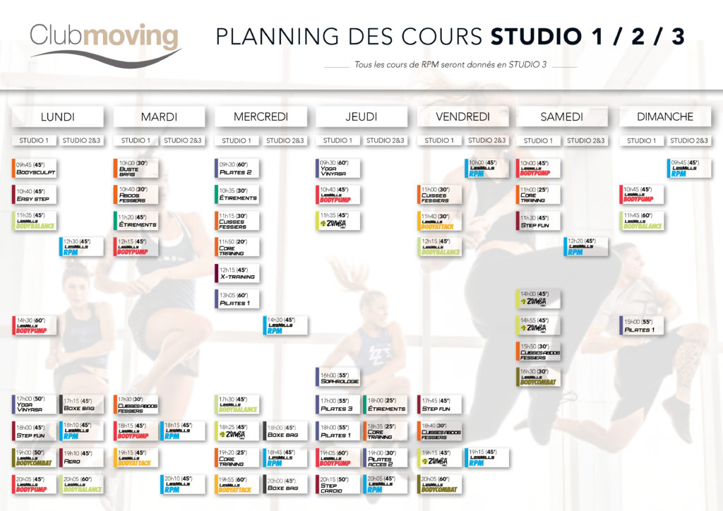 Planning-Fitness moving